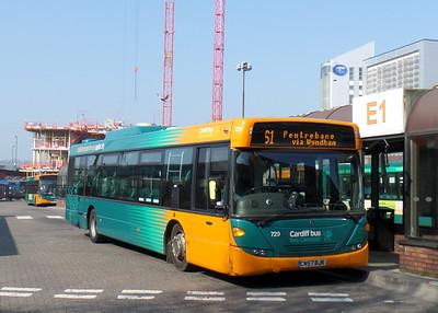 729 - CN57BJK - Cardiff (bus station)