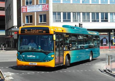 743 - CN59CKY - Cardiff (Wood St) - 23.7.12