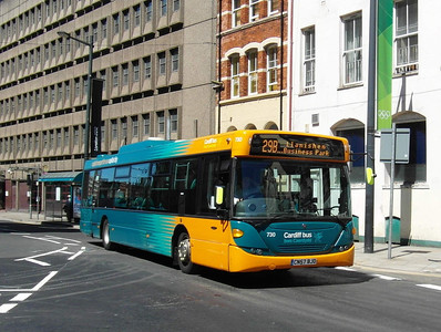 730 - CN57BJO - Cardiff (Westgate St) - 23.7.12