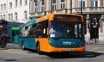 722 - CN57BHY - Cardiff (Wood Street)