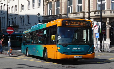 730 - CN57BJO - Cardiff (Wood Street)