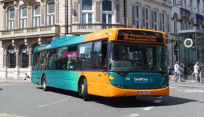 732 - CN57BJX - Cardiff (St. Mary's Street)