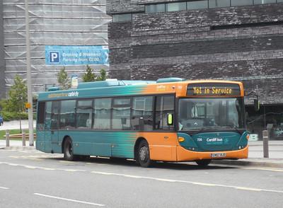 730 - CN57BJO - Cardiff Bay (Mermaid Quay) - 3.8.09