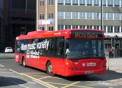 721 - CN57BHV - Cardiff (bus station)