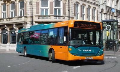 744 - CN59CLF - Cardiff (St. Mary's Street)