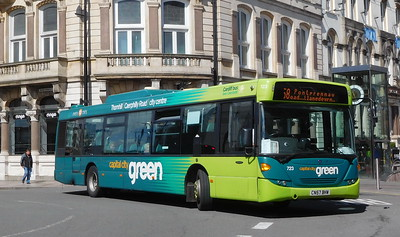 723 - CN57BHW - Cardiff (St. Mary's Street)