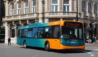 741 - CN59CKV - Cardiff (St. Mary's Street)