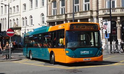 721 - CN57BHV - Cardiff (Wood Street)