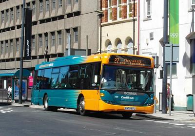 739 - CN09EFL - Cardiff (Westgate St) - 23.7.12