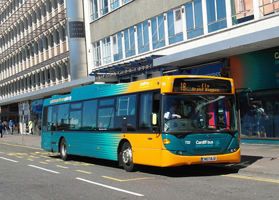 732 - CN57BJX - Cardiff (Wood St) - 23.7.12