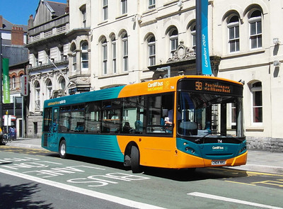 714 - CN04NRU - Cardiff (Westgate St) - 23.7.12