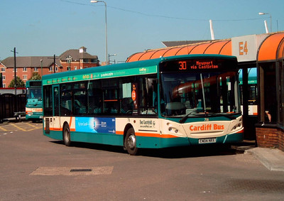 716 - CN04NRX - Cardiff (bus station) - 1.8.07
