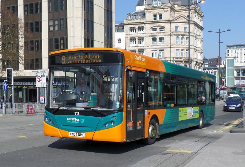 712 - CN04NRK - Cardiff (Wood St)