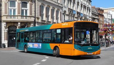 711 - CN04NRJ - Cardiff (St. Mary Street)