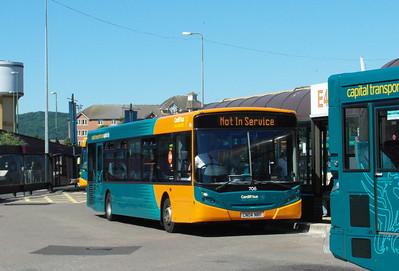 706 - CN04NRF - Cardiff (bus station) - 23.7.12