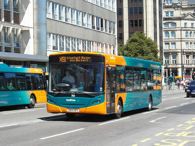 701 - CN04NPV - Cardiff (Wood St) - 23.7.12