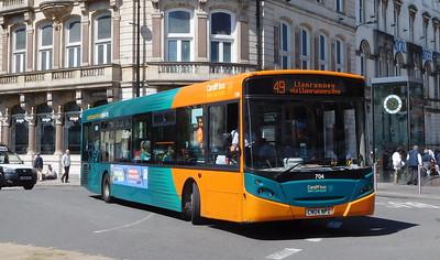 704 - CN04NPZ - Cardiff (St. Mary Street)