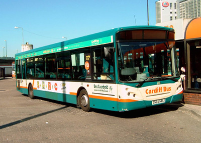 713 - CN04NRL - Cardiff (bus station) - 1.8.07