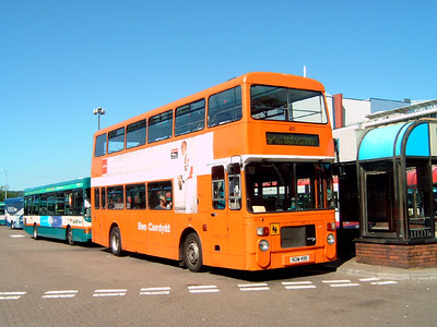 411 - NDW411X - Cardiff (bus station) - 1.8.07