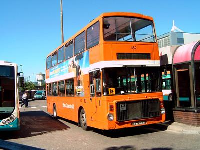 452 - A972YSX - Cardiff (bus station) - 1.8.07