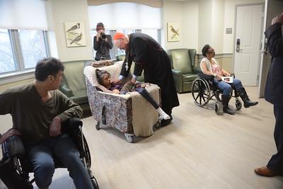 Cardinal Dolan blesses new Neurodegenerative Care Center