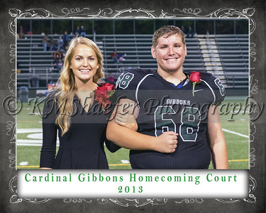 CGHS Homecoming Court 2013 1a