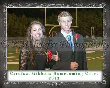 CGHS Homecoming Court 2013 7