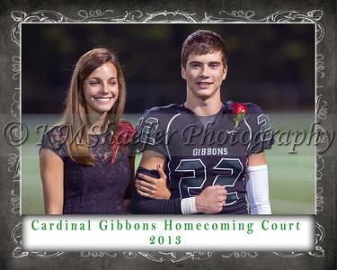 CGHS Homecoming Court 2013 3