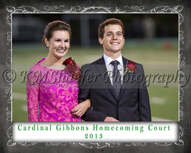 CGHS Homecoming Court 2013 5