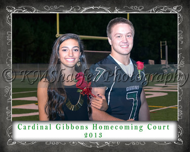 CGHS Homecoming Court 2013 6