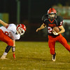 Eldon, Iowa October 21, 2016 -- Cardinal High School vs North Mahaska high school football. Photo by Dan L. Vander Beek