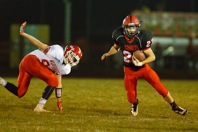 Eldon, Iowa October 21, 2016 -- Cardinal High School vs North Mahaska high school football. Photo by Dan L. Vander Beek