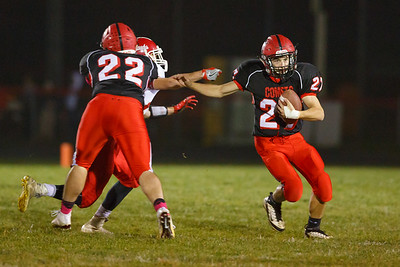 Cardinal HS vs North Mahaska football 10212016