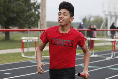 Cardinal High School held the Bob Gerard Relays held Friday evening, April, 30.