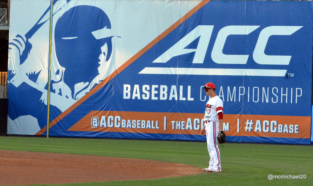 Nick Solak at 2016 ACC Baseball Tournament