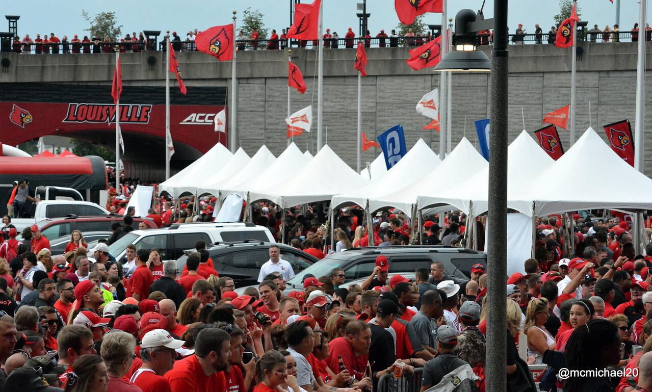 Fans awaiting CardMarch