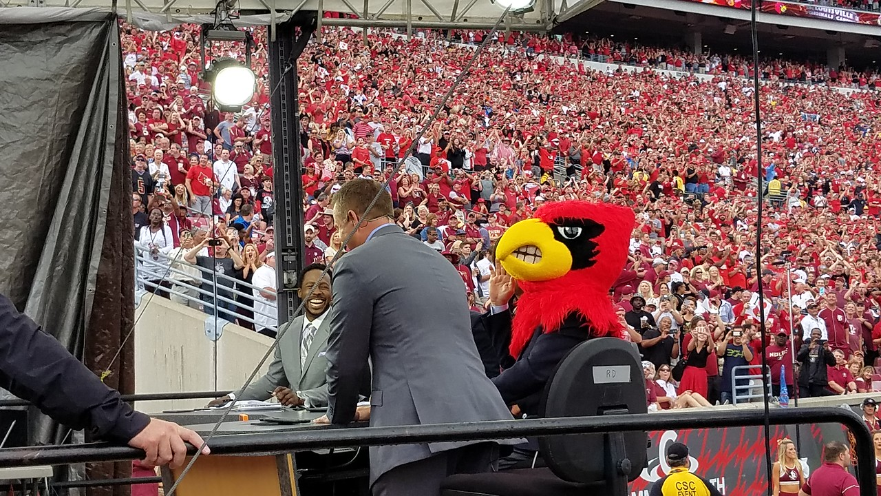 ESPN's Lee Corso accurately predicted a Louisville win