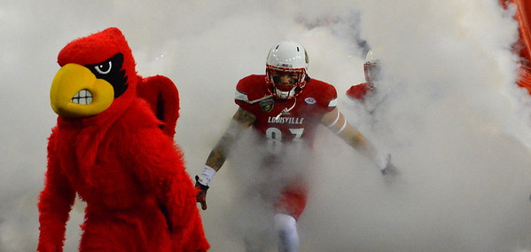 Here come the Cardinals!