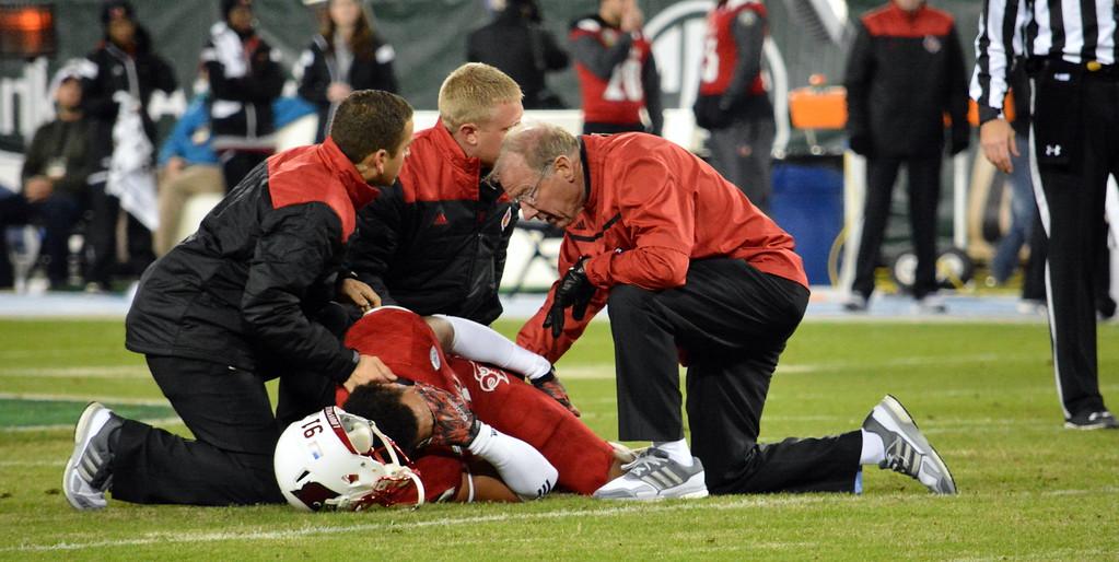 Trevon Young injured