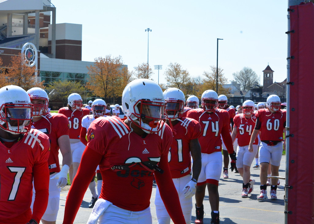 Cards take the field