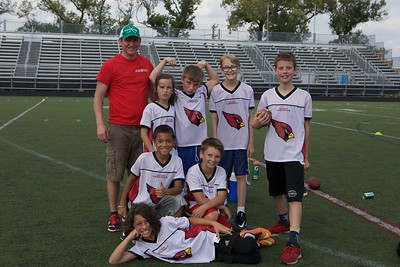 Cardinals Flag Football  9-24-2017