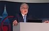 ESC President Fausto Jose Pinto speaks