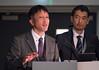 Dr. Atsushi Kobori, left, and Dr. Kazuaki Kaitano, right