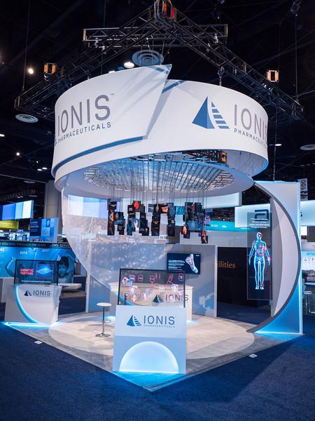 Ionis during Exhibits
