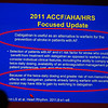 Dallas, TX - AHA 2013 Scientific Sessions - Elaine Hylek: PS.05 Stroke Prevention in AF: New Options in 2013:  here today, Tuesday November 19, 2013 during the American Heart Associations Scientific Sessions being held here at the Dallas Convention Center. Scientific Sessions is the leading cardiovascular meeting for basic, translational, clinical and population science, in the United States, with more 18,000 cardiovascular experts from more than 105 countries attending the meeting. Photo by © AHA/Scott Morgan 2013 Technical Questions: todd@medmeetingimages.com