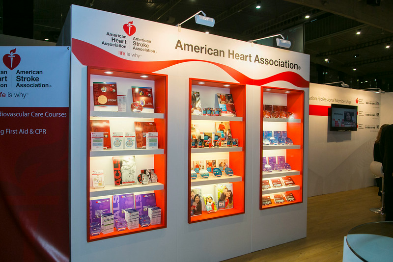 AHA Booth at ESC