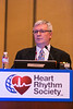 San Francisco, CA - The HRS 2014 Annual Meeting - Dr. Bailey discusses his research at HRS 2014 Speaker : Dr. Bailey at the Heart Rhythm Society's 35th Annual Scientific Sessions here today, Friday May 9, 2014. More than 15,000 physicians, researchers, health care professionals and patient advocates are expected to attend the meeting at the Moscone Convention Center. The Annual Meeting highlights the latest findings in all major areas of the field cardiac pacing and electrophysiology.  Photo by © HRS/Todd Buchanan 2014 Technical Questions: todd@medmeetingimages.com