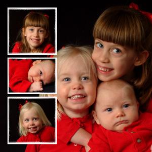 4 picture square