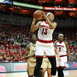Corrente Walton grabbed one of her 9 rebounds during the game.