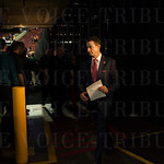 Head Coach Rick Pitino of the Louisville Cardinals walks to the locker room after defeating the UC Irvine Anteaters during the second round of the 2015 NCAA Men\'s Basketball Tournament at Key Arena on Friday, March 20, 2015 in Seattle, Wash. Louisville w